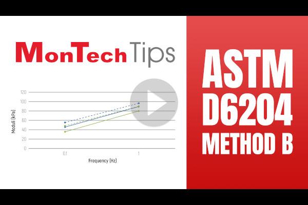 MonTech Tips: ASTM D 6204 Method B