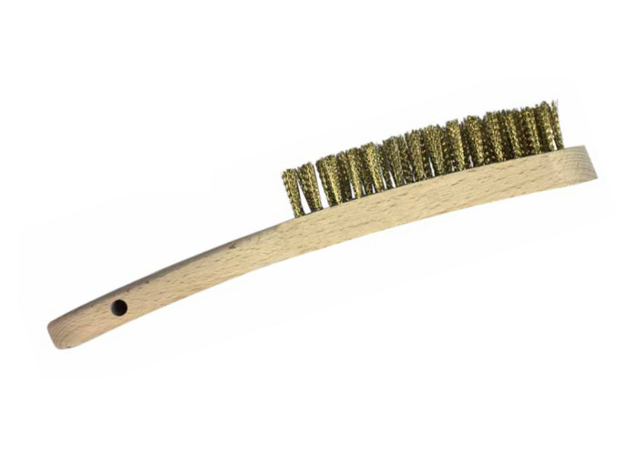 Large Brass Brush