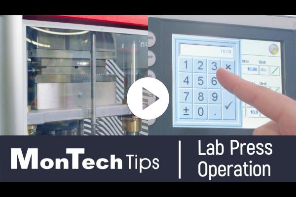 MonTech Tips: Lab Press Operation