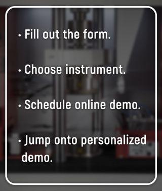 Online Instrument Demo Steps